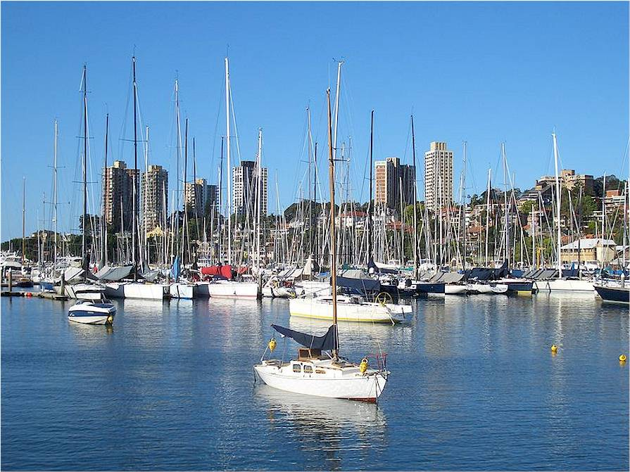 Image of Rushcutters Bay
