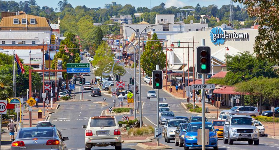 Image of Toowoomba City